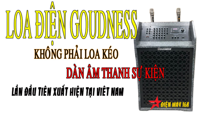 Loa điện Goudness